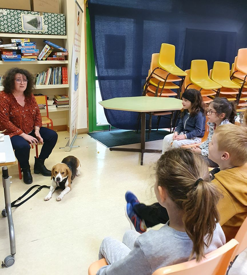 Lire avec les chiens
